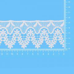Spitzenband glänzend 55mm - 13,7m