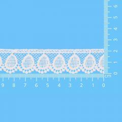 Spitzenband glänzend 22mm - 13,7m