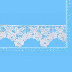 Spitzenband glänzend 70mm - 13,7m