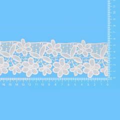 Spitzenband glänzend 65mm - 13,7m