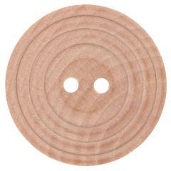 Holzknopf mit Rand Größe 20-40 - 40-50Stk
