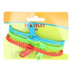 Reißverschluss-Armband  3 Stück pro Verpackung - 5 Stück