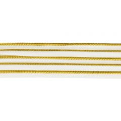 Paspelband gold 2mm - 25m