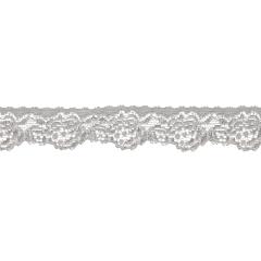 Nylon elastische Spitze 28mm 25 Meter - 004