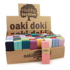 Oaki Doki Display Jersey Schrägband 120 Stück in Box -1Stk.