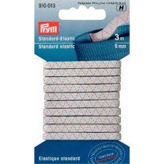 Prym Standard-Elastic 5mm weiß/schwarz - 5 Stück H