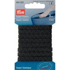 Prym Super-Elastic 7mm schwarz/weiß 3m - 5 Stück I