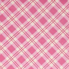 Tissu de Marie Stoff Flanell Karo 1.10m - 10m