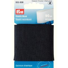Prym Elastic-Bund 60mm schwarz-weiß 0,9m - 5 Stück K