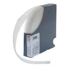 Prym Kräusel-Elastic 25-40mm weiß - 20m