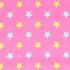 Tissu de Marie Stoff Flanell Sterne 1,15m - 10m