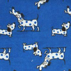 Tissu de Marie Stoff Flanell Hunde 1,15m - 10m