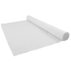 Aufbügelvlies Baumwolle 115cm breit schwarz/weiß - 25m
