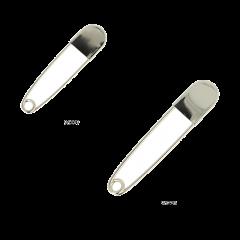 Opry Kiltnadeln 11-12,5cm nickel - 5Stk