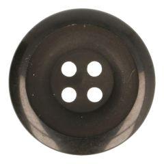 Knopf schwarz halb matt-glänzend Größe 28-48 - 40-50Stk