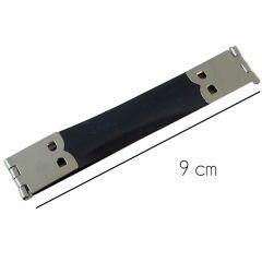 Portemonnaie-Verschluss nickel 9 cm- 5 Stück