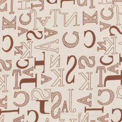 Tissu de Marie Stoff Buchstaben 1.50m - 10m