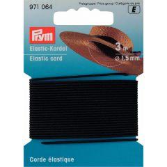 Prym Elastic-Kordel 1,5mm 3m - 5 Stück E