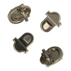 Steckschloss für Taschen klein - 10 Stück