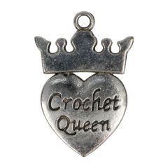 Anhänger Crochet Queen - 100Stk