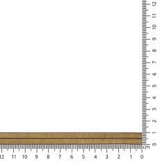 Einfassband elastisch gold - 25m