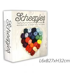 Scheepjes Ordner für Farbkarten 32x27x6cm - 1Stk