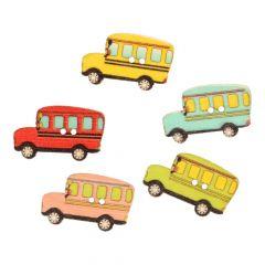Knopf Bus Sortiment Größe 48 - 30mm - 50Stk