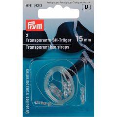 Prym Fashion Träger transp. 15mm - 5 Stück U