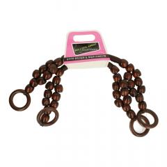 Taschengriffe mit Perlen 43cm - 3 Paar - 881