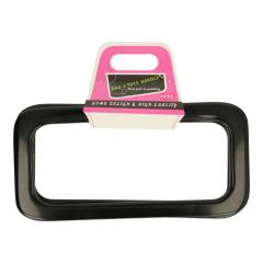 Taschengriffe Kunststoff 19cm - 3 Paar - schwarz