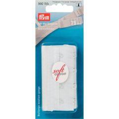 Prym BH-Verlängerer 75mm 3 x 4 Haken weiß - 5 Stück L