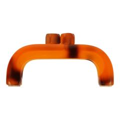 Taschengriff Kunststoff 11,5cm - 3 Stück - Schildpatt