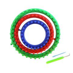 Strickringset Knit Quick 3 Stück 14-19-24 cm - 1 Stück