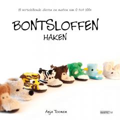 Hausschuhe häkeln - Anja Toonen - 1Stk