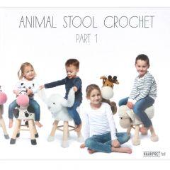 Animal stool crochet 1 - Anja Toonen - 1Stk