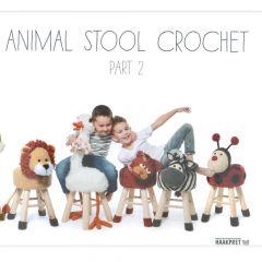 Animal stool crochet 2 - Anja Toonen - 1Stk
