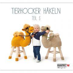 Tierhocker häkeln 3 - Anja Toonen - 1Stk
