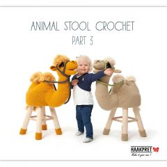 Animal stool crochet 3 - Anja Toonen - 1Stk