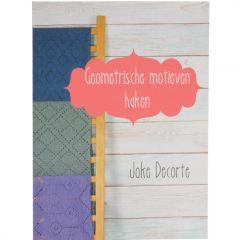 Geometrische motieven haken - Joke Decorte - 1Stk