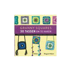 Granny Squares 30 tassen om te haken - Margaret Hubert -1Stk