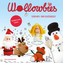 Wollowbies vieren kerstfeest - Jana Ganseforth - 1 Stück