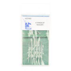 MMJZ Handicap-Nadeln silber - 5x6Stk