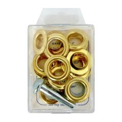 MMJZ Ösen+ 14-10 6,95 - 5 Stück - gold