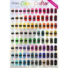 Scheepjes Colour Crafter gratis Ladenposter - A2 Format -1St