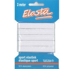 Elasta Sport-Elastik 11mm-3m weiß - 10 Stück