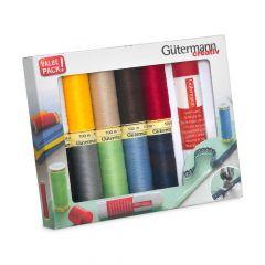 Gütermann Allesnäher-Set Textil-Fixier-Stift 10x100m - 1Stk