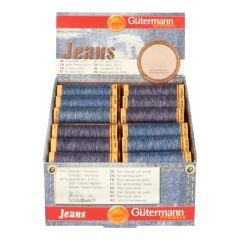 Gütermann Display Jeans 100m 2 Farben - 36 Stück - 1 Stück