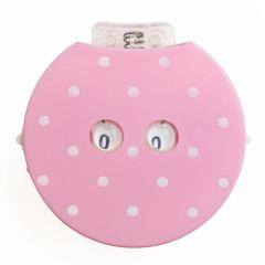 KnitPro Clicky Reihenzähler 40x37,5mm rosa - 3Stk