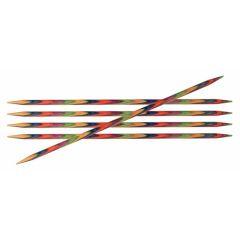 KnitPro Symfonie Strumpfstricknadeln 15cm 6 Nadeln - 3 Stück