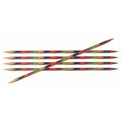KnitPro Symfonie Strumpfstricknadeln 10cm 6 Nadeln - 3 Stück